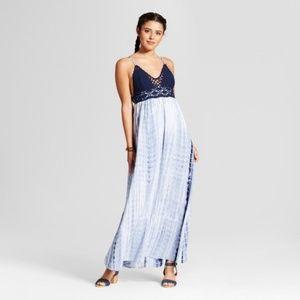 Women's Crochet Tie-Dye Maxi Dress - Xhilaration™